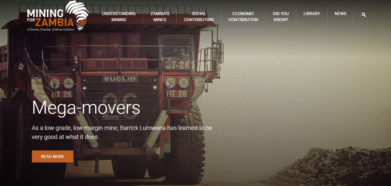 ZCM launches extensive, educational website for mining industry